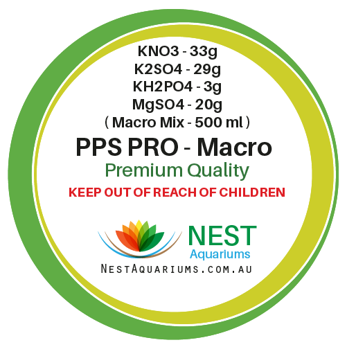 NEST - PPS-Pro Fertilizer Macro For 500ml - Dry Aquarium Fertilizers - JagAquatics