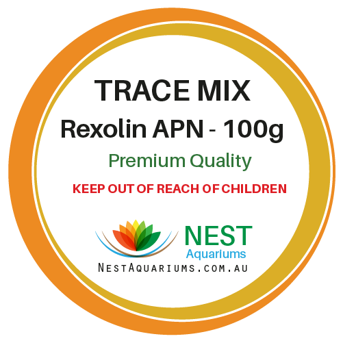 NEST - Trace Micronutrients Mix - Rexolin APN - Dry Aquarium Fertilizers - 100g