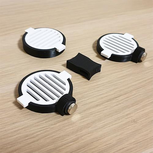 PodX - Set Of 3 - Round Ledge - 5cm - JagAquatics