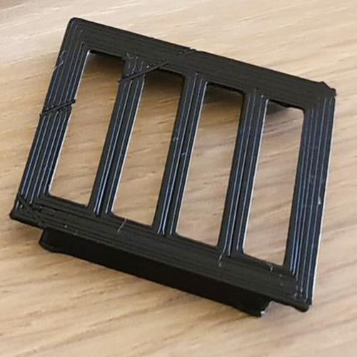 PodX - Rectangle Ledge Moss Connector - 5x5cm - JagAquatics