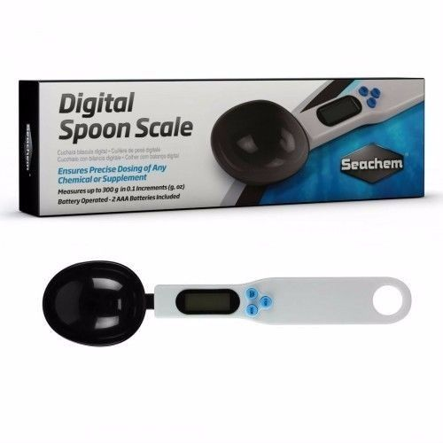 Seachem Digital Spoon Scale - For Precision Dosing - JagAquatics