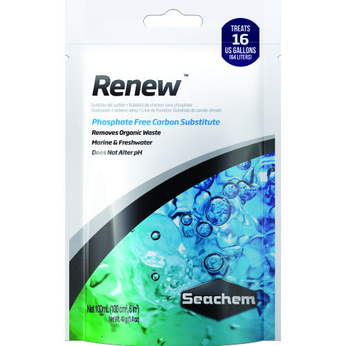 Seachem Renew 100ml Bagged - JagAquatics