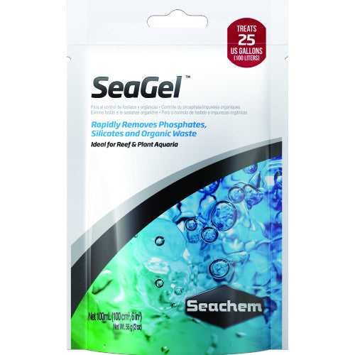 Seachem SeaGel 100ml Bagged - JagAquatics
