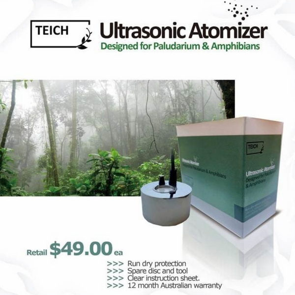 TEICH Ultrasonic Atomizer - Fogger / Mister