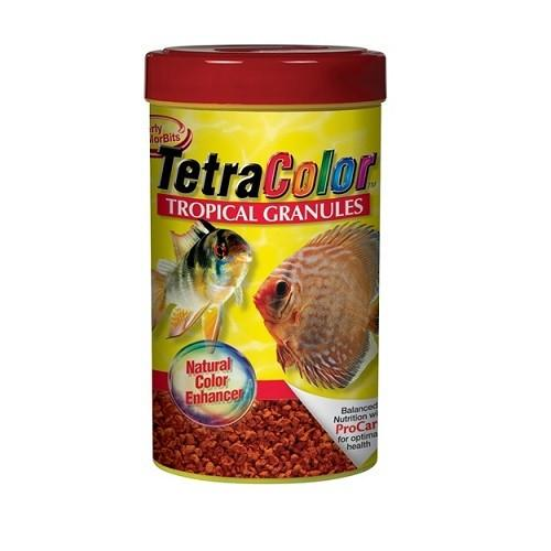 Tetra Color Tropical Granules 75g - JagAquatics