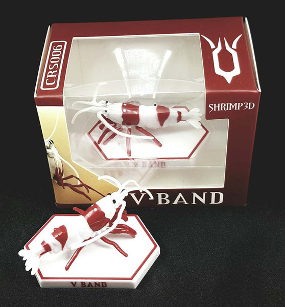 SHRIMP3D - Crystal Red - V Band