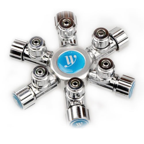 WYIN 6 Way CO2 Splitter - JagAquatics