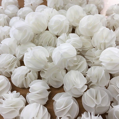 Baby Bee Shelter Flower - White Colour ( Quantity 1 ) - JagAquatics