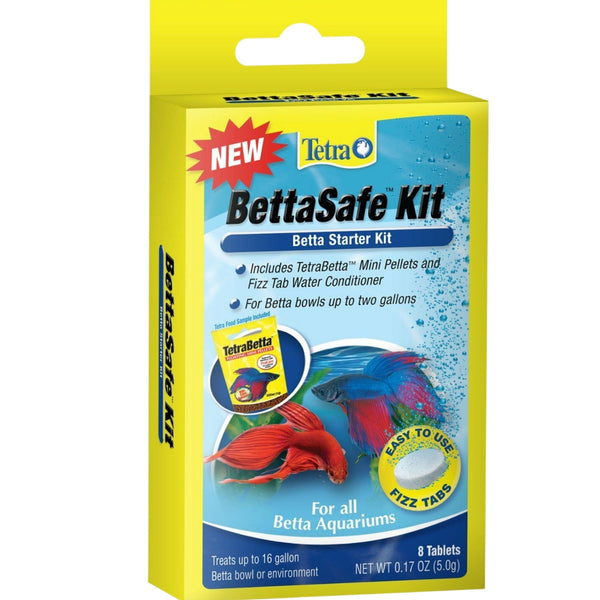 Tetra BettaSafe Kit 8 Tablets - Water Conditioner and Food
