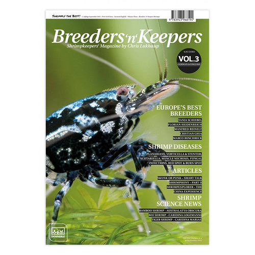 Breeders N Keepers - Vol 3 - Shrimp Keeping Magazine