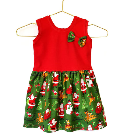 Our Crystals Closet Dresses Its Christmas Time Boundless Dress Size 2 Handmade READY TO POST