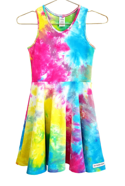 Our Crystals Closet Dresses Skater Dresses 3 Sleeve Options Sizes 2-14 MADE TO ORDER