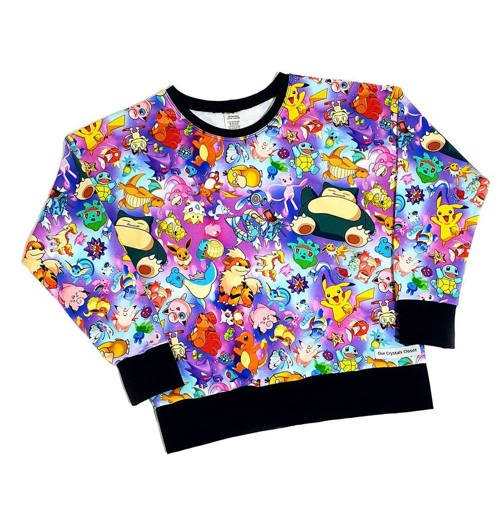 Our Crystals Closet Jumpers Custom Pokemon Characters Jumpers Handmade (CUSTOM ORDER BREE ROACH)