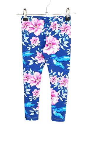 Our Crystals Closet Pants Hummingbird Leggings Size 4 Handmade READY TO POST