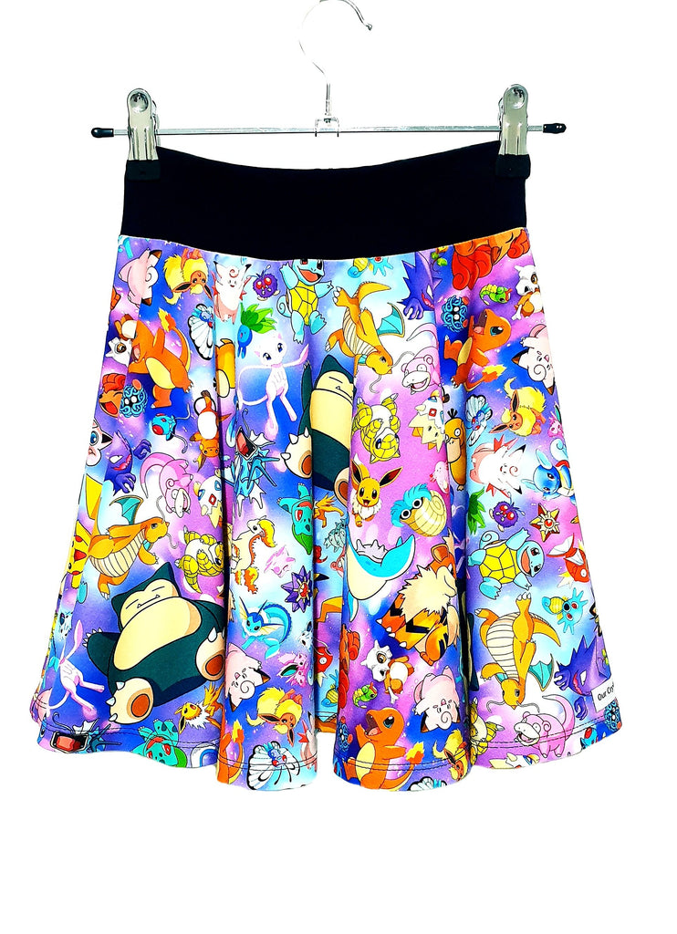 Our Crystals Closet Skirts Skater Skirts Sizes 2-16 MADE TO ORDER
