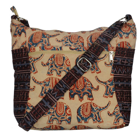 Indy Cotton Bag - Red Elephant (KK2003)