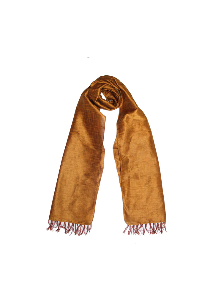 Scarf - Cotton, Art Silk -Honey- SK0001