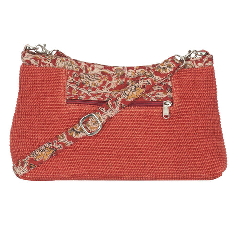 Diya Crossbody Bag - BrickRed (JK1004)