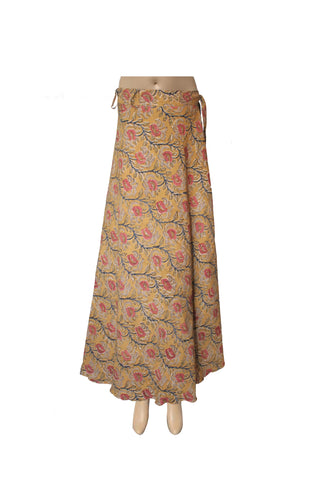Wrap Skirt - Flowers Yellow(KK1014)