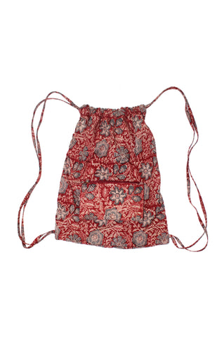 Backpack - Flowers Red-KK1309