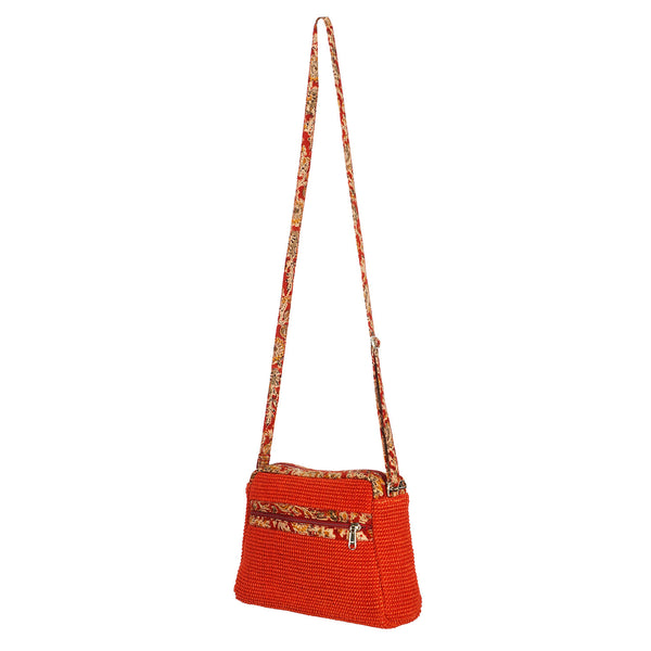 Villa Crossbody Bag - Brickred (JK1044)