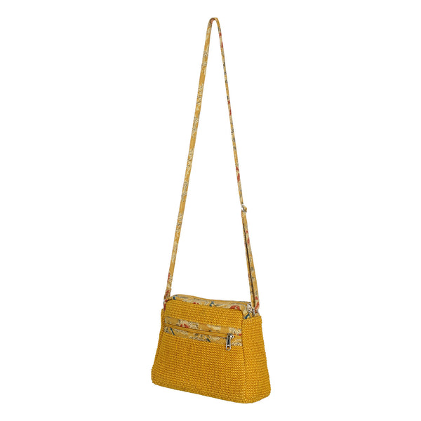Villa Crossbody Bag - Yellow (JK1043)
