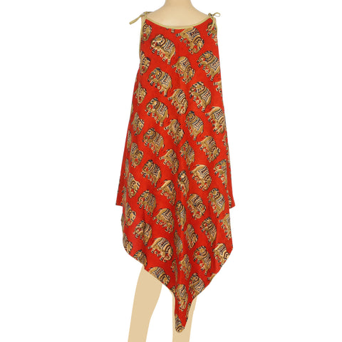 Strap Dress - Elephant Red (KK1061)