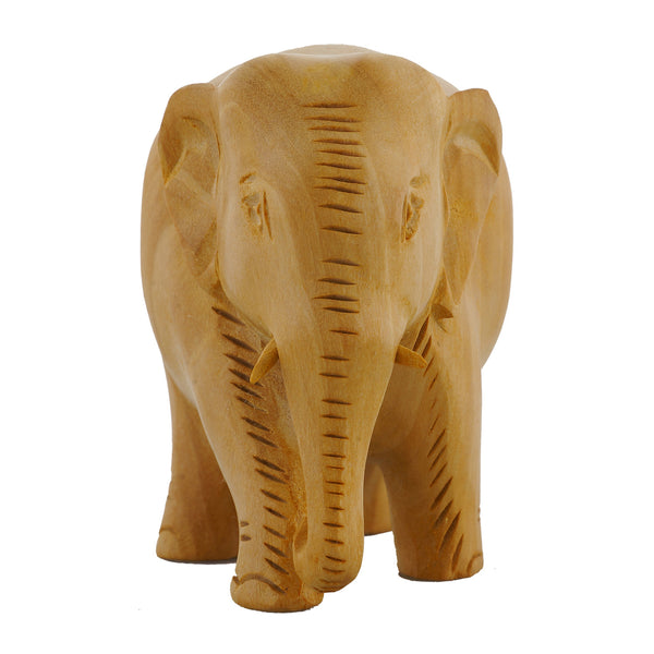 Wooden Elephant - Solid- Multiple Sizes - (WA1008)