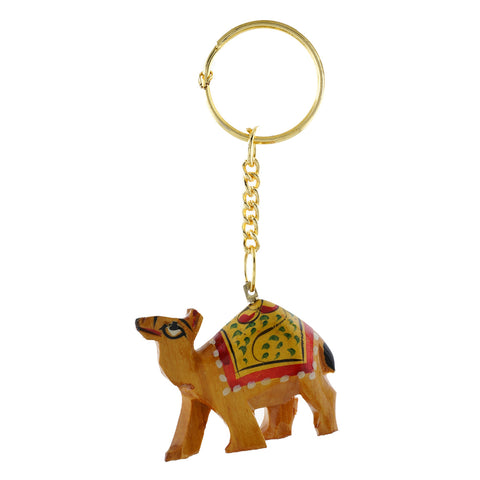 Wooden Camel - Key Chain - WA1024