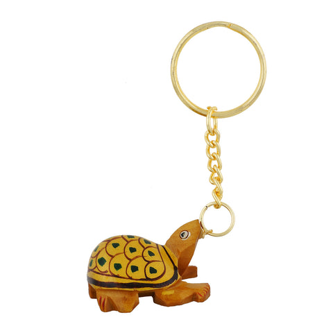 Wooden Turtle - Key Chain - WA1025