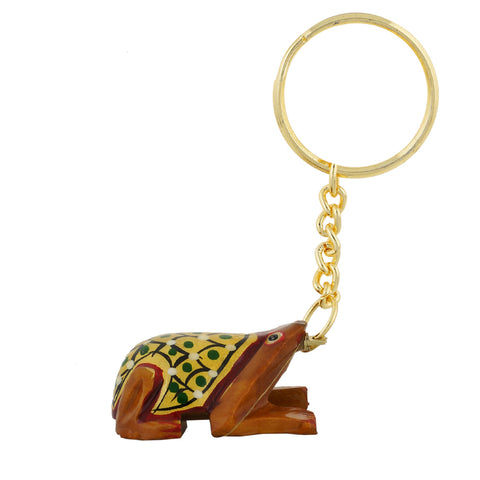 Wooden Frog - Key Chain - WA1023