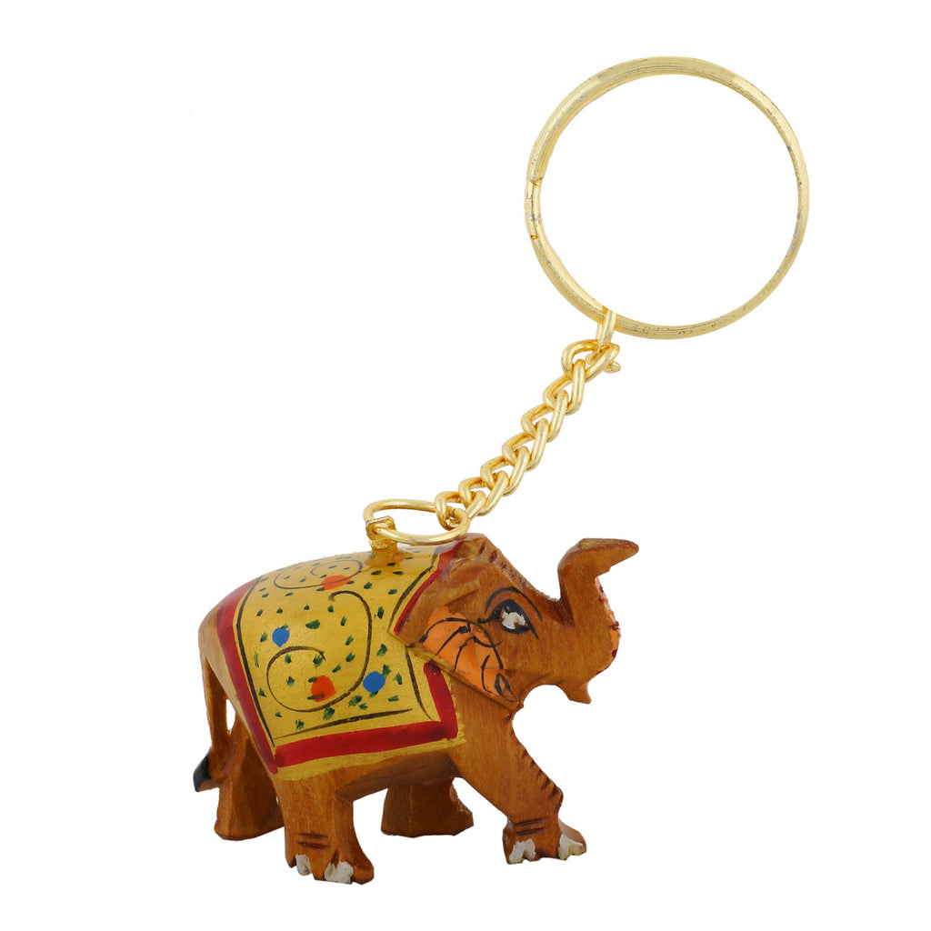 Wooden Elephant - Key Chain - WA1022
