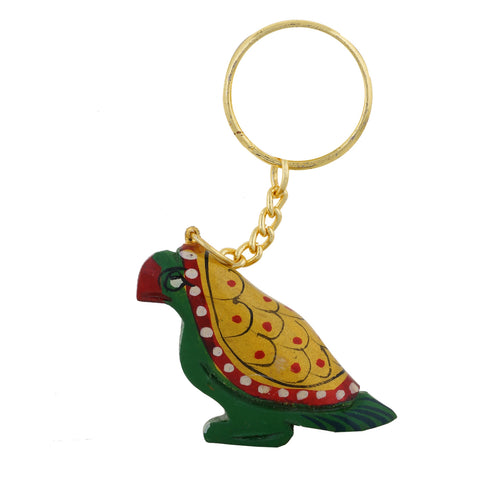 Wooden Parrot - Key Chain - WA1026