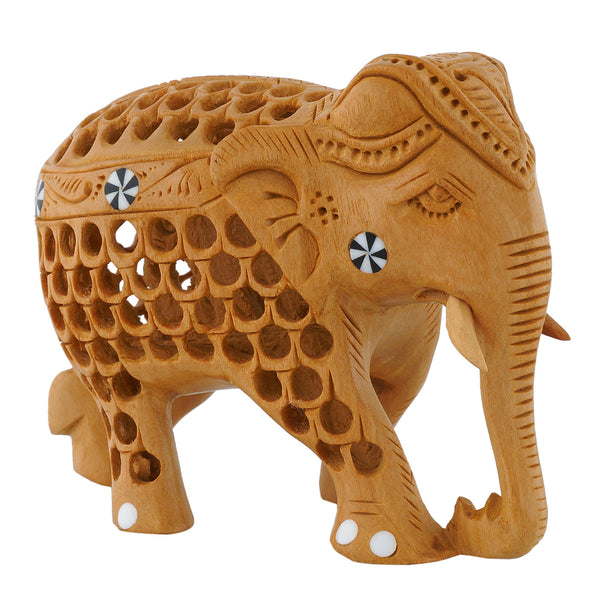 Elephant - Undercut with carving