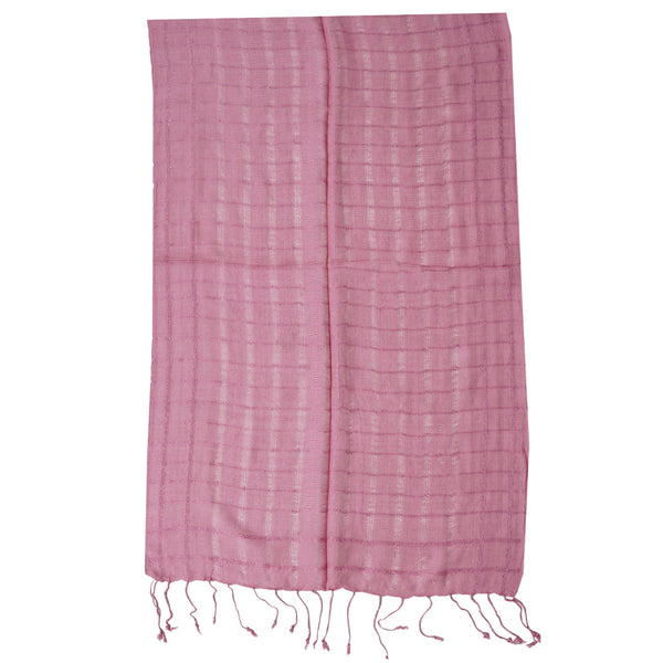 Scarf - Pink Checks (SF0009)