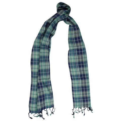 SF0010 - Scarf - Green Checks