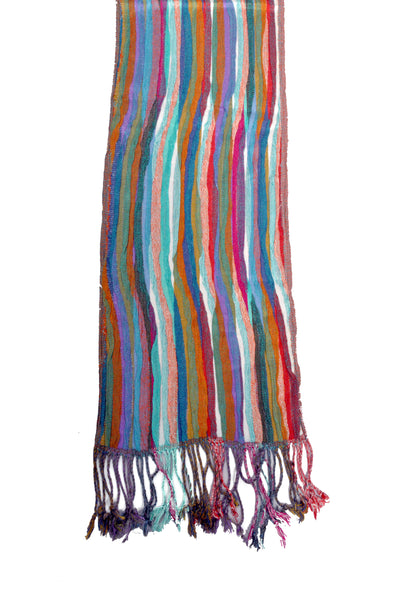 SF0003-Scarf - Thin Stripes