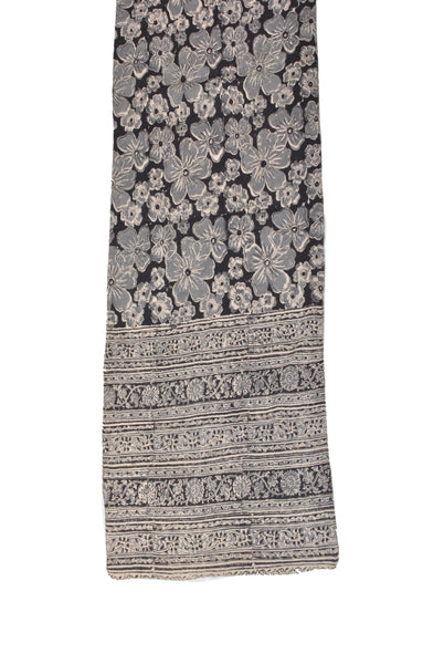 SOP0001 - Kalamkari Oblong Scarf with border print
