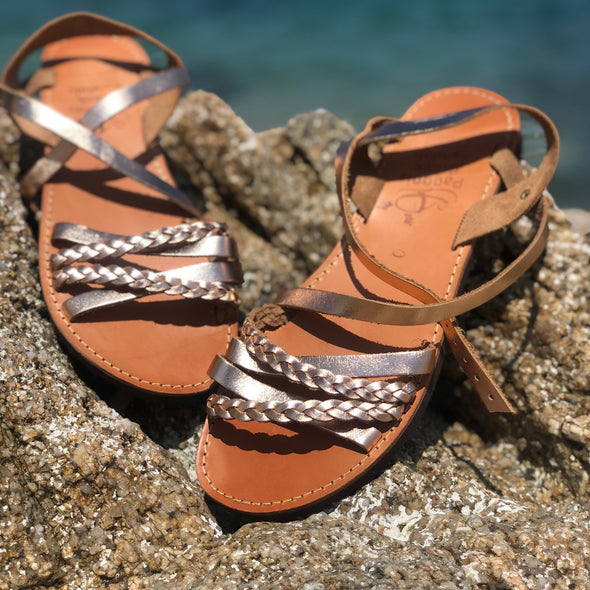 Handmade Greek sandals