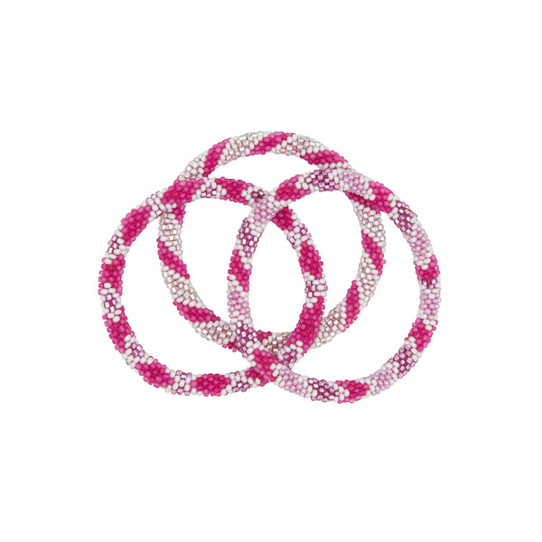 Pretty in pink bracelet trio 2