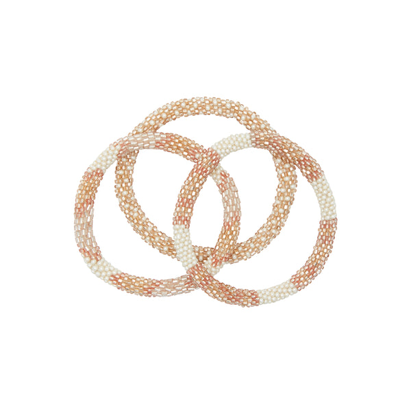 Rosé all day bracelet trio 1