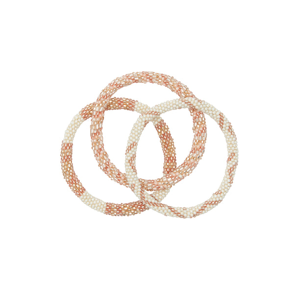 Rosé all day bracelet trio 3