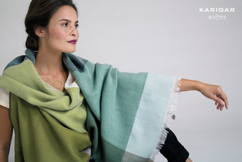 Cape Berlin comes in shades of green -- the perfect colour to be associated with sustainability