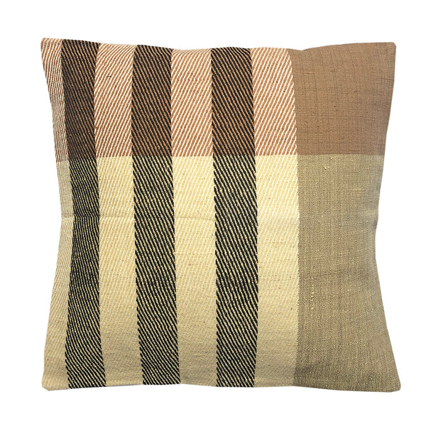 Cushion Cover Wool Camel Stripes
