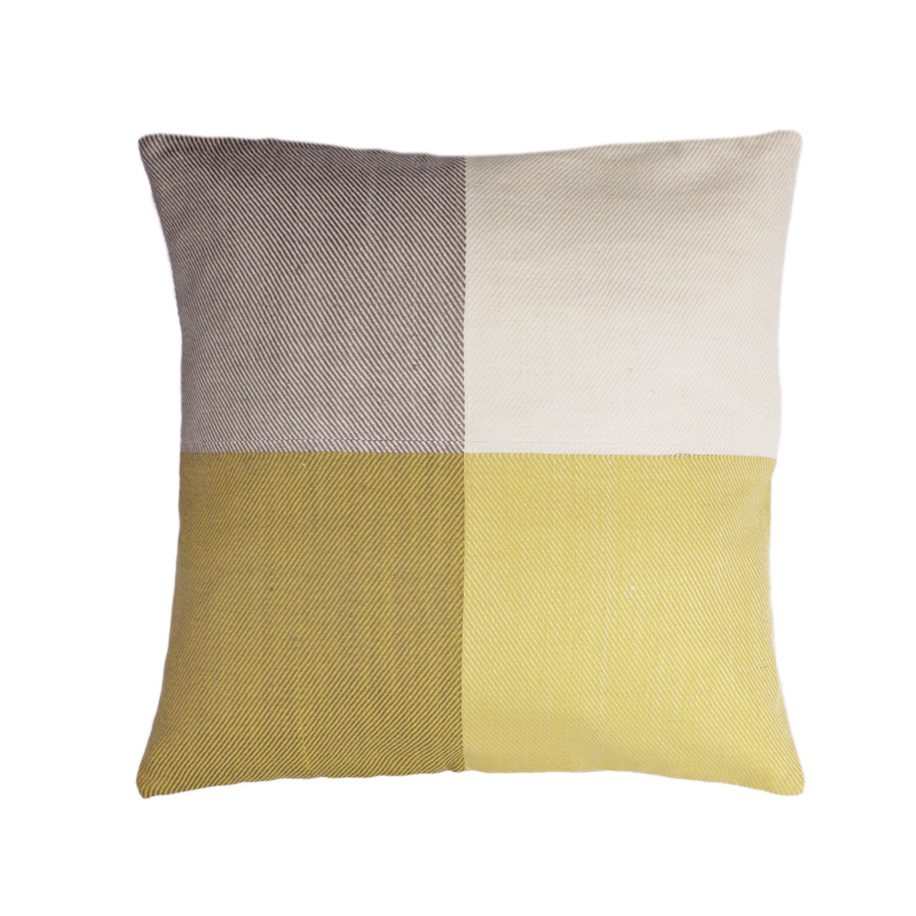 Karigar CUSHION COVER Yellow