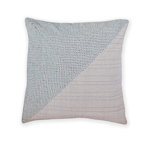 Cushion Cover Khadi Neutral Mint