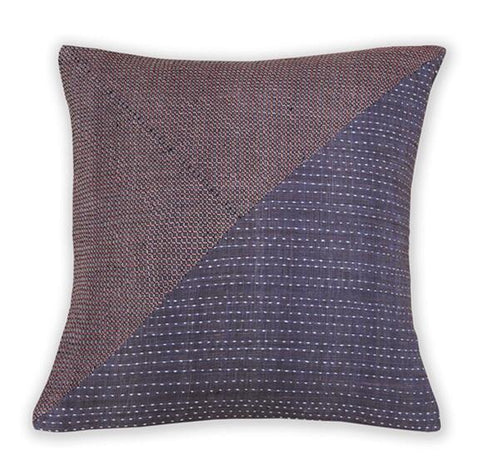 Cushion Cover Khadi Berry Salmon