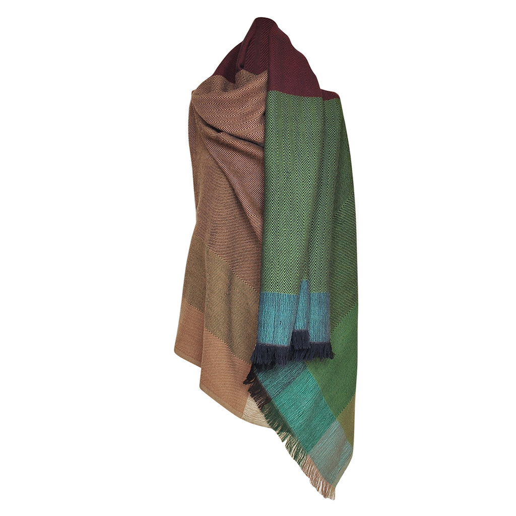 KARIGAR Cape Cosmopolitan New Delhi short wrap