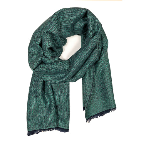Scarf Ocean Blue Green