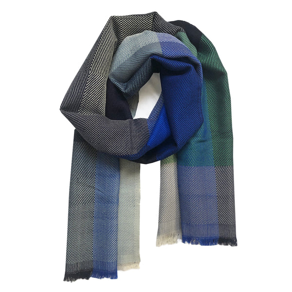 Scarf Wool Pica Blue